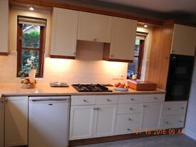 Complete Kitchen, including Units and Appliances for sale.