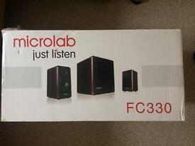 Microlab FC330 Subwoofer & Speakers