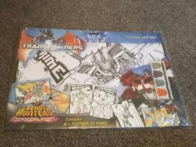 Transformers Beast Hunters Predacons Rising Poster Art set