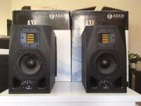 Adam Audio A3X Studio Monitors