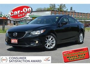 2015 Mazda Mazda6 LUXURY LEATHER NAV SUNROOF REAR CAM HTD SEATS
