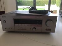 Yamaha AV receiver. Purchased approx 2011 still as good as new. Cables are not included