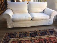 Luxury cream Sofa bed NEEDS TO GO BY SUNDAY! £60 ONO