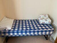 Fold up bed single