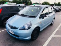 HONDA JAZZ 1.2 i-DSI S 5dr.12 MONTHS MOT. Only Run 28k. LOW PRICE FOR URGENT SALE