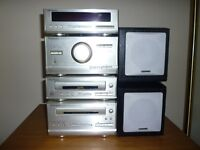 technics mini hi fi system