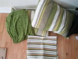 Cushions/blanket & placemats for sale