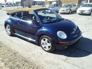 2006 Volkswagen New Beetle Convertible manuelle,cuir,cabriolet,t