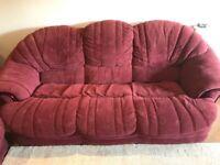 2 Piece Sofa- good condition