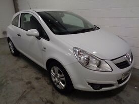 VAUXHALL CORSA , 2010/60 REG, 42000 MILES + HISTORY, £30 YEAR ROAD TAX, YEARS MOT, FINANCE, WARRANTY