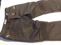 Icon Women's leather riding pants size 9