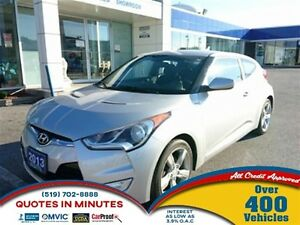 2013 Hyundai Veloster HEATED SEATS | KEYLESS ENTRY | MUST SEE