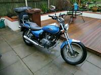 Kawasaki bn125 eliminator 2002 leaner legal