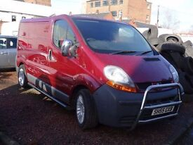 55 plate renault traffic valeting van fully kitted out ready to work evrything brand new SWAP CAR