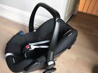 Maxi Cosi Pebble - Black/Grey baby car seat