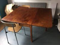 Folding leaf Victorian Table