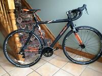 Raleigh RX Race full carbon fibre cyclocross bike, 8.6kg