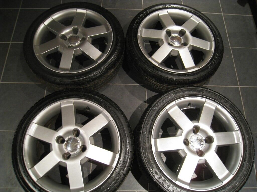 Ford Ka Sport Alloy Wheels  Inch Pcd Mm  Stud Ford Focus Mondeo Fiesta Puma Fusion