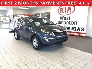 2012 Kia Sportage LX FWD 2.4L,FIRST 2 MONTHS PAYMENTS FREE!!