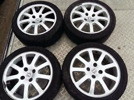 PEUGEOT 206 ALLU WHEELS AND TYRES