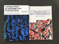 Learning to Teach Art & Design in the Secondary School. Social & Critical Practises in art education