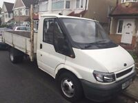 2002 FORD TRANSIT DROPSIDE, BRILLIANT CONDITION, 1 OWNER.FULL SERVICE HISTORY.FREE WARRANTY. NO VAT.