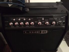 Classic Spider Line 6 With Foot Pedal £60 Guitar Amp