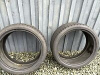 Dunlop Sp Sportmaxx 255x35x20y 3 hours use
