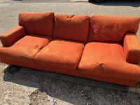 Roche Bobois 3 seater sofa bed
