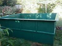 Preformed fibre glass KOI/FISH pond or quarantine/growing on tank (900 gallons)