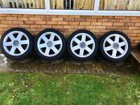 """Audi TT Sport 17"""" Alloy Wheels, Alloys"""