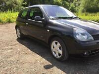 Renault Clio 1.2• Full years MOT (with no advisories)• Corsa polo punto fiesta golf Astra