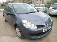 RENAULT CLIO AUTOMATIC. 5drs HATCHBACK ,LOW MILES AND VERY TIDY (NEW SHAPE)