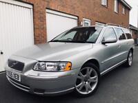 2005 55 Volvo V70 2.4 D5 Manual++Full MOT+Serviced+Full Volvo S/H+Estate not v50 s40 530d s60 t5 3.0