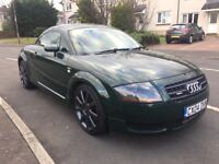 04 AUDI TT - 180BHP QUATTRO 6 SPEED - RARE GREEN COLOUR - FUTURE CLASSIC - FINE EXAMPLE - FSH