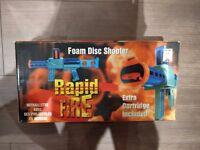 Rapid fire foam disk shooter