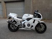 Honda CBR400rr Gullarm NC29 BabyBlade. 400cc sports bike classic / track motorcycle. MOT'ed P/X SWAP