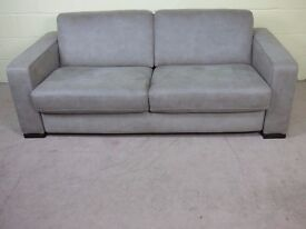 'SIESTA' PREMIUM METAL ACTION 3 SEATER SOFABED EX DISPLAY EXCELLENT