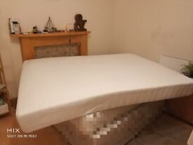 Double Mattress spring pocket in excellent condition