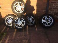 Ford wheel x5 alloys tyres