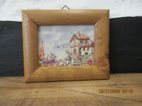Framed Print - Mediterranean Scene
