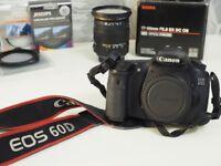 Canon EOS 60D + Sigma 17-50mm 2.8 EX DC OS + Canon 10-18mm + Extras