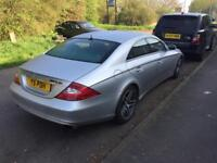 Mercedes benz cls500 customs exhaust Amg full service