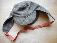 Vintage Deerstalker Hat Failsworth Bond Street London - for Goodwood?