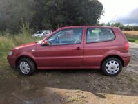 VW POLO, 64000 miles, interior and exterior is good. Runs perfect, 1 year MOT, full service history