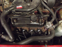 CLASSIC MINI OR METRO 1000 ENGINE AND GEARBOX LOW MILAGE CAN BE SEEN RUNNING
