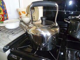 STELLAR kettle for Aga/all hobs- Stainless steel