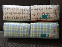 Boys Honest Company size 1 & 2 diapers