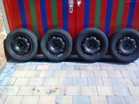Fabia wheels and tyres 14in