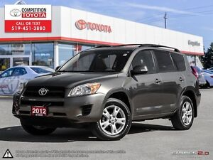 2012 Toyota RAV4 Base One Owner, No Accidents, Toyota Serviced